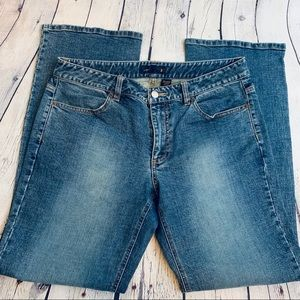 JCrew | Straight Med Wash Jeans Size 8
